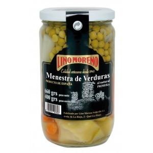MENESTRA DE VERDURAS AL NATURAL DE PRIMERA - LINO MORENO