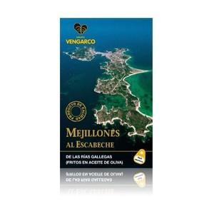 MEJILLONES EN ESCABECHE (8-12 piezas) VENGARCO