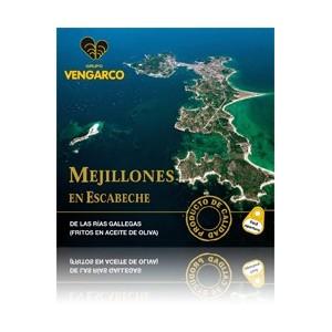 MEJILLONES EN ESCABECHE (6-8 piezas) VENGARCO