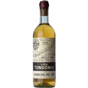 VIÑA TONDONIA BLANCO GRAN RESERVA 1991